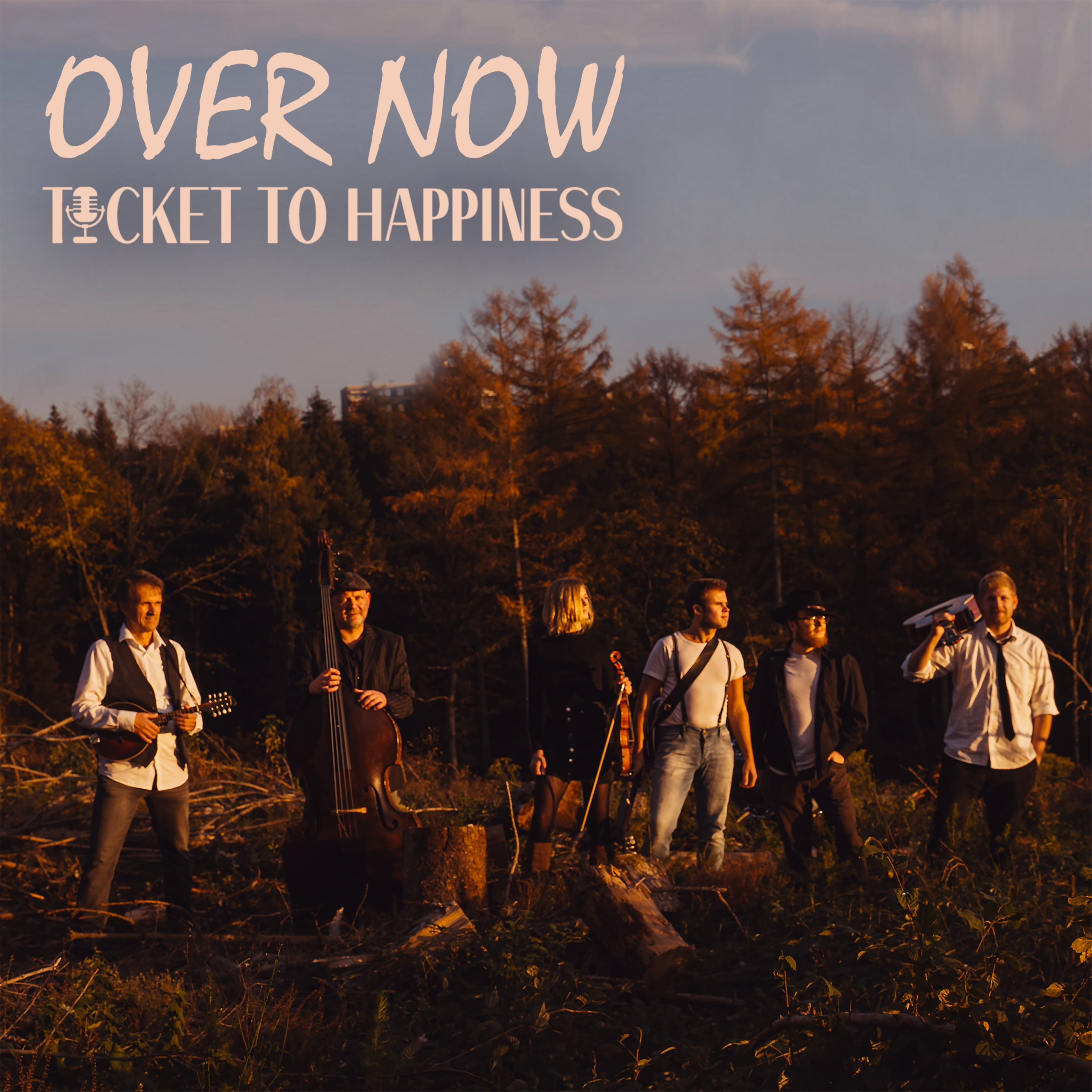 Over Now Cover - Ticket to Happiness - Single - Folk - Folk Rock - Folk Pop - Music - MP3 Download
