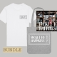 Ticket to Happiness – Shirts - CD - Album - Tote Bag - Jutetasche - Jutebeutel - T-Shirt - White - Grey - Bundle - Merch - Shop - Happiness Shirt